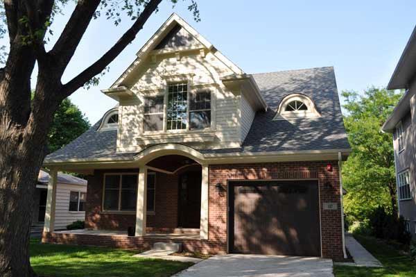 Custom-built traditional home